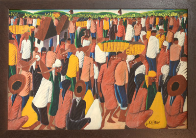 Casimir · Crowd Scene at Market