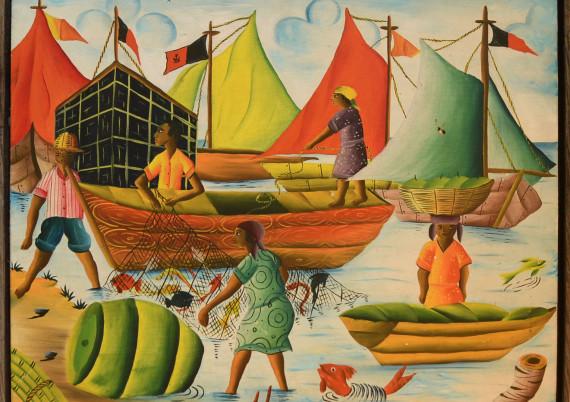 Dubic Jn · Three Fishing Boats