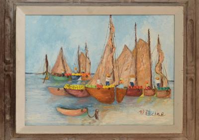 Fercin R · Sails in the Bay