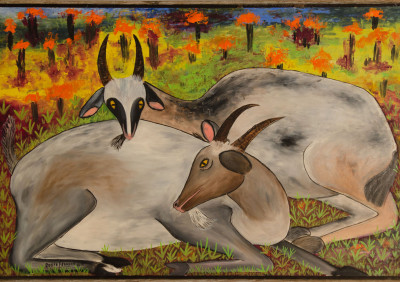 Francois R · Two Mountain Goats