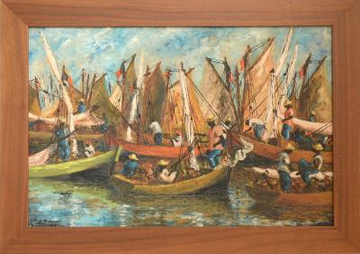 Gireault Eric · Many Ships in Harbor