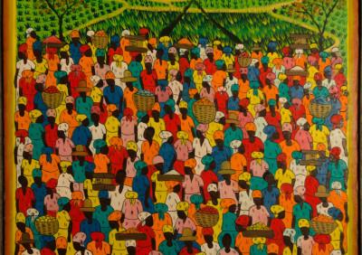 Hippolite L · Market Crowd Scene