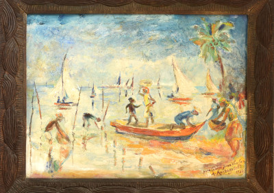 Montagutelli Amerigo · Boat Landing at Labadee