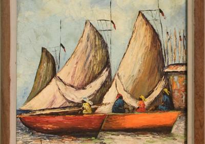Moricetti J B · Lovely Sail Boats