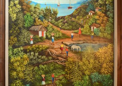 Myrthil D Jn · Country Scene over Water