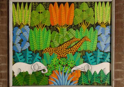 Manot Y · Two Elephants in Jungle