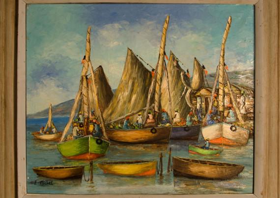 Michel E · Three Ships and Three Dingeys