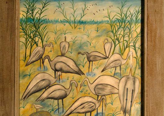 Mogloire S H · White Cranes