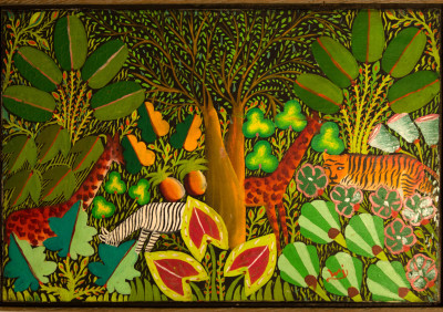 Wi · Paradise Jungle Scene