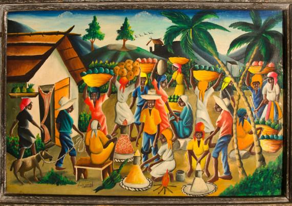 Joseph Louis · Carrying Fruit to Market