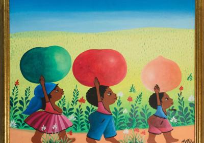Chery J • Three Kids Melons on Heads