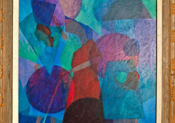 Coachy J E · Cubism Man and Woman
