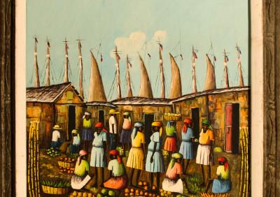 Moricette J · Market at Port