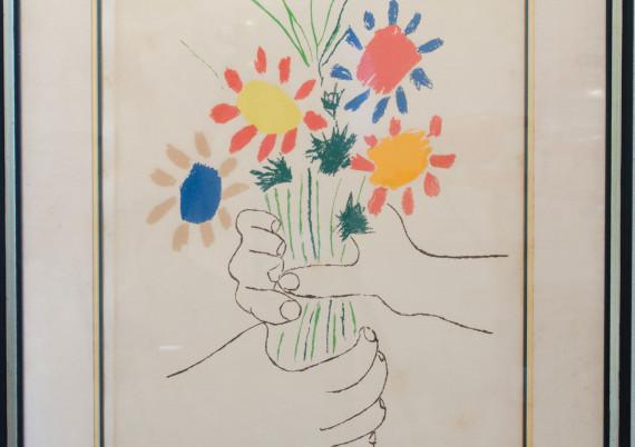Picasso · La Bouquet