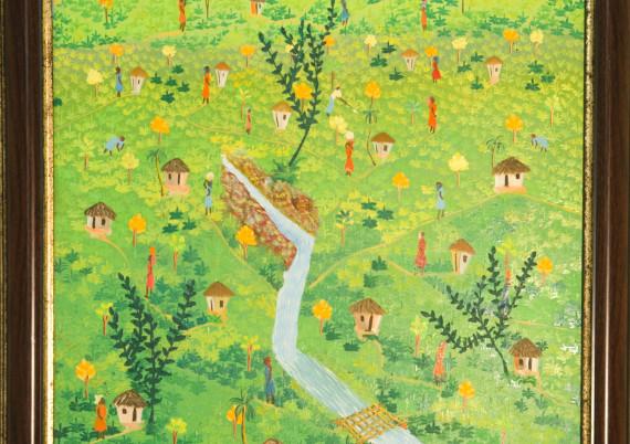 Saint V L · Village Stream Runs through It