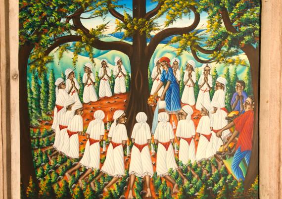 Valcin G · Voodoo Ceremony around Tree