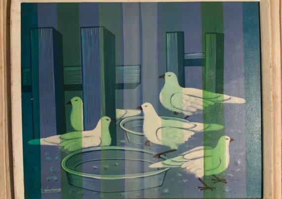Valtrain C · Bathing Pigeons